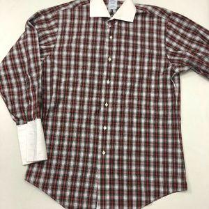 Brooks Brothers Slim Fit Long Sleeve Dress Shirt